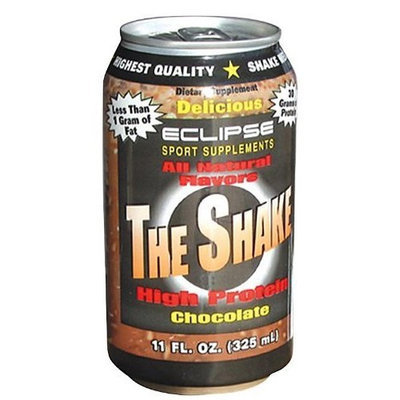 Eclipse Sport Supplements The Shake Chocolate 24 x 11 Oz
