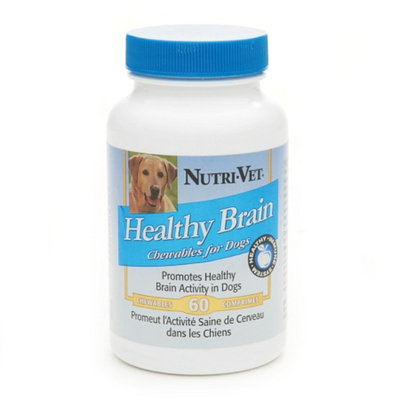 Nutri-Vet Healthy Brain Chewables for Dogs