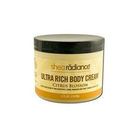 Shea Radiance Ultra Rich Cream Citrus Blossom - 4 Oz, 2 pack (image may vary)