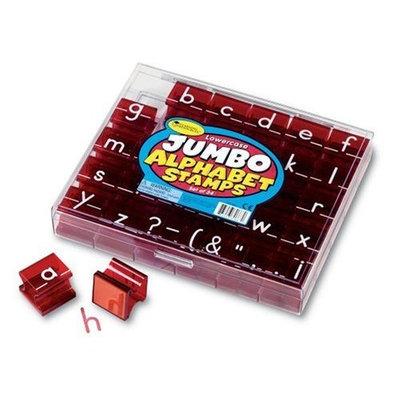 Learning Resources Jumbo Lowercase Alphabet Stamps