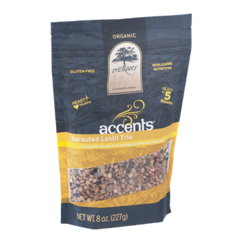 Tru Roots Accents Sprouted Lentil Trio