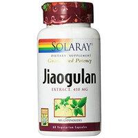 Solaray Jiaogulan Capsules, 410mg, 60 Count,
