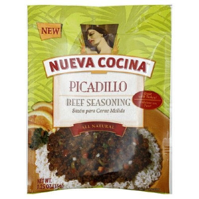 Nueva Cocina Beef Seasoning, Picadillo, 1.25-Ounce Packets (Pack of 12)