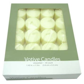 Room Essentials 20 Count Votive Candles - Ivory
