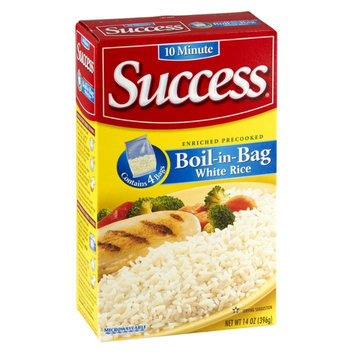 Success Boil-in-Bag White Rice - 4 CT