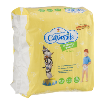 Cottontails Training Pants for Boys Size 2T-3T (22-35 lb) - 56 CT