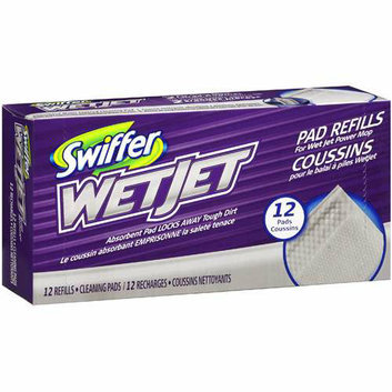 Swiffer For Wet Jet Power Mop Refills