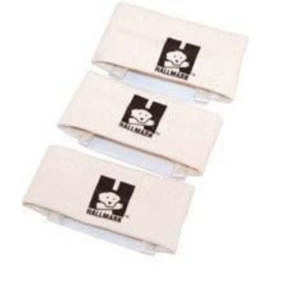 Hallmark Dog Training Supplies Hallmark 76003 Scent Band 3 Pack, Small - White