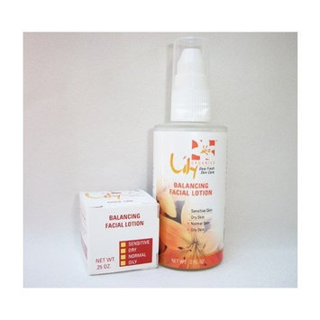 Facial Lotion Balancing Wrinkle Treatment for Oily to Normal Skin By Lily Organics