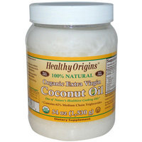 Healthy Origins 100% Natural Organic Extra Virgin Coconut Oil