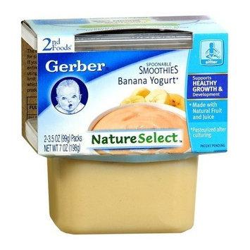 Gerber® 2nd Foods Nature Select Smoothies Banana Yogurt