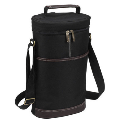 Picnic at Ascot Picnic At Ascot Two Bottle Carrier in Black