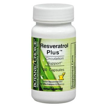 Botanic Choice Resveratrol Plus Dietary Supplement Capsules