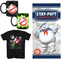Johnson Smith (Set) Ghostbusters Gift Pk - Beach Towel, Heat Morphing Mug & Tee Shirt - MD