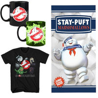 Johnson Smith (Set) Ghostbusters Gift Pk - Beach Towel, Heat Morphing Mug & Tee Shirt - LG