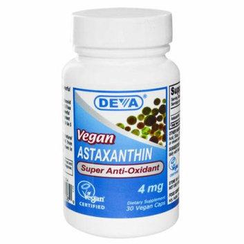 Deva Vegan Vitamins Deva Vegan Astaxanthin Super Antioxidant 4 mg 30 Capsules