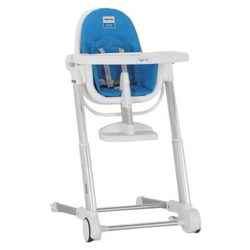 Inglesina Zuma Highchair - White/Light Blue