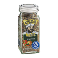 Chef Paul Prudhomme's Magic Seasoning Blends Seven Herb