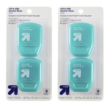 up & up Ultra Slip Dental Floss - 2 Pack