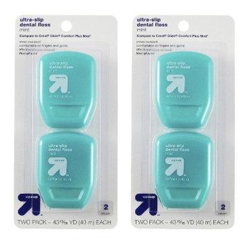 up & up Ultra Slip Dental Floss - 2 Pack