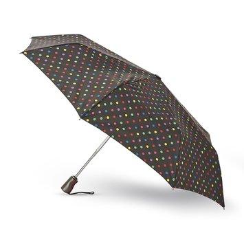 Totes Titan Compact Umbrella & Case Dots - TOTES INCORPORATED