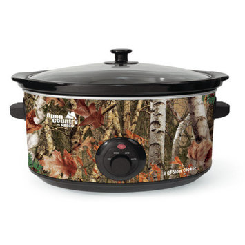 Nesco 8-Quart Oval Woodland Birch Camouflage Slow Cooker