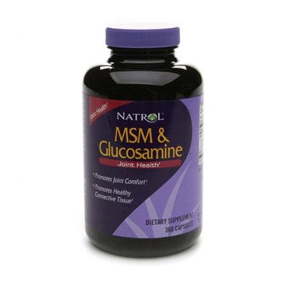Natrol MSM with Glucosamine Topical Creme Formula