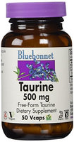 Taurine 500mg Bluebonnet 50 Caps