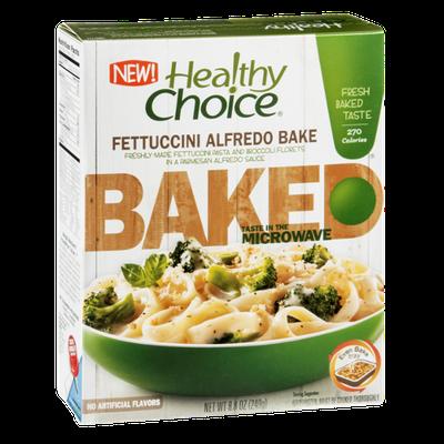 Healthy Choice Baked Alfredo Bake Fettuccini