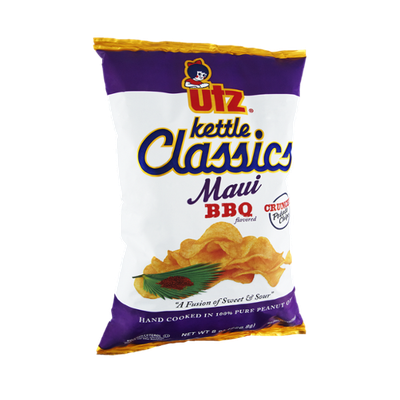 Utz Kettle Classics Maui BBQ Crunchy Potato Chips