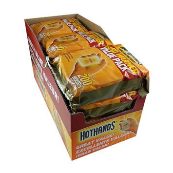 HeatMax Hot Hands Hand Warmers - 120 pair consists of 10/12-packs