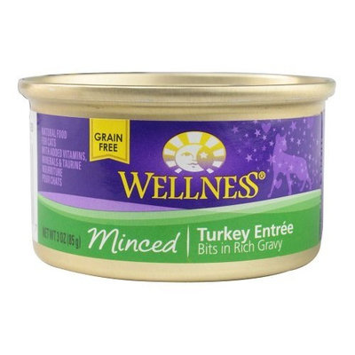 Wellness Cat Food Minced Turkey Entree