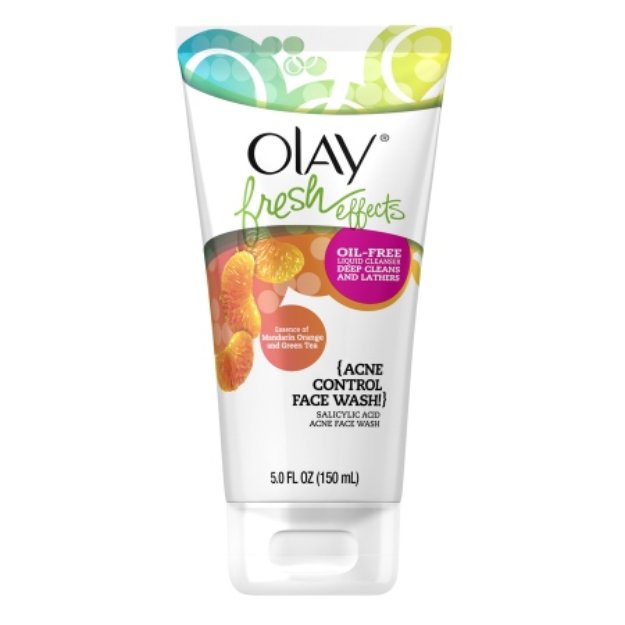 Olay Fresh Effects Acne Control Face Wash