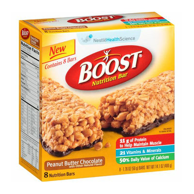 Boost Peanut Butter Chocolate Nutrition Bars