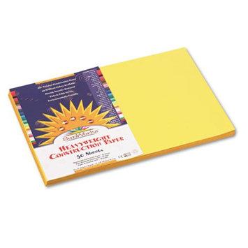 Sunworks SunWorks Construction Paper, 58 lbs, 12 x 18, Yellow, 50 Sheets/Pack