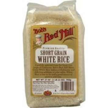 Bob's Red Mill Rice Short Grain White 27 ozs