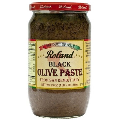 Roland Black Olive Paste - 1 jar, 23 oz