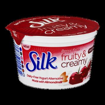 Silk Dairy-Free Fruity & Creamy Black Cherry Yogurt Alternative