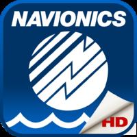 Navionics Boating HD: marine & lakes charts, routes, GPS tracks for cruising, fishing, yachting, sailing, diving.