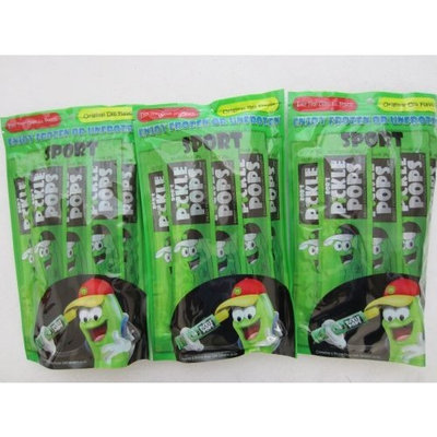 BOB'S PICKLE POPS Original Dill Flavor 6 Pops per Pack (Pack of 3 for 18 Total Pops)