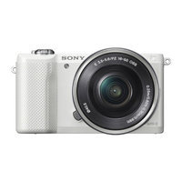 Sony Alpha a5000 Mirrorless Digital Camera with 16-50mm OSS Lens