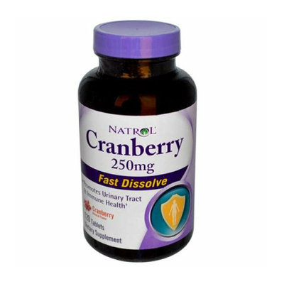 Natrol Cranberry Fast Dissolve 250 mg 120 Tablets
