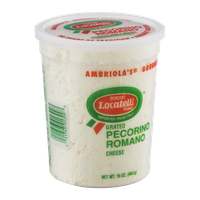 Locatelli Pecornio Romano Cheese Grated