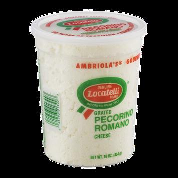 Locatelli Pecornio Romano Cheese Grated