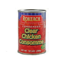 ROKEACH Clear Chicken Soup Meat, 10.5-Ounce Cans (Pack of 24) ( Value Bulk Multi-pack)
