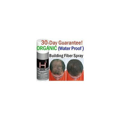 Hair Cubed ® Hair Cubed® - Silver, Hair Building Fiber Spray -(Water Proof) Lasts 2 - 5 Months