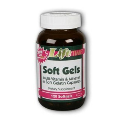 Soft Gels Multi-Vitamin And Mineral Supplement w Lutein LifeTime 120 Softgel