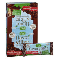 Gnu Foods Flavor & Fiber Bars 16 Pack Chocolate Brownie