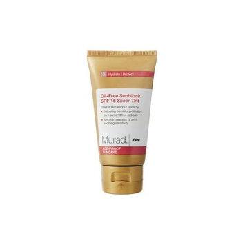 Murad Age-Proof Suncare Oil-Free Sunblock, SPF 15, Sheer Tint, 3: Hydrate/Protect, 1.7 fl oz (50 ml)