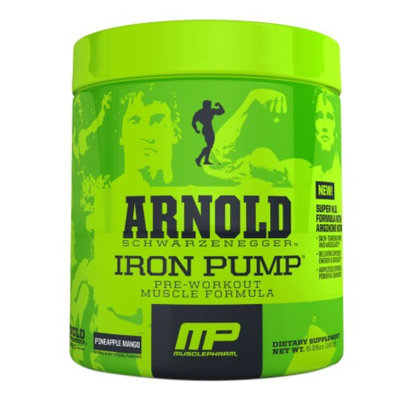 MusclePharm Arnold Schwarzenegger Series Pump Pineapple Mango